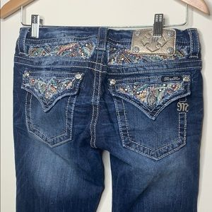 Multi colored like new Miss Me Jeans